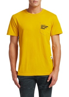 G Star Raw Denim Graphic Short Sleeve Pocket T-Shirt