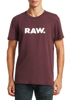 G Star Raw Denim Holorn Logo Tee