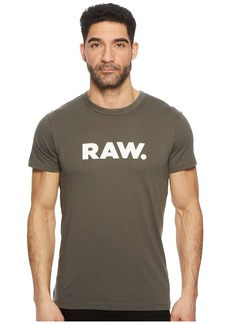 G Star Raw Denim Holorn Round Neck Short Sleeve T-Shirt