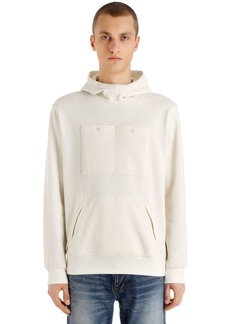 G Star Raw Denim Hooded Military Sweatshirt