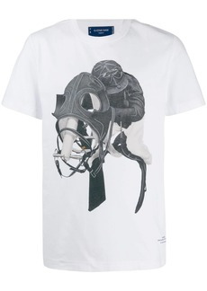 G Star Raw Denim horse jockey print T-shirt