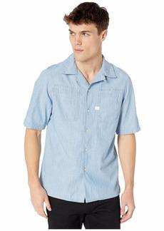 G Star Raw Denim Kinec Straight Service Short Sleeve Shirt