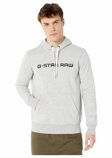 G Star Raw Denim Loaq Hooded Core Long Sleeve Round Neck Sweatshirt
