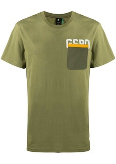 G Star Raw Denim logo chest pocket T-shirt