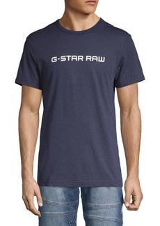 G Star Raw Denim Logo Crewneck Tee