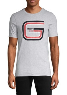 G Star Raw Denim Logo Graphic Cotton Tee