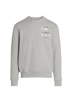 G Star Raw Denim Logo Graphic Sweatshirt