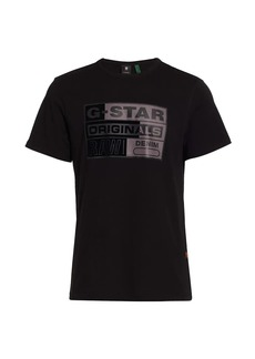 G Star Raw Denim Logo Graphic T-Shirt