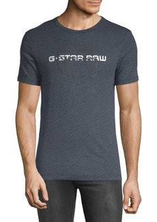 G Star Raw Denim Logo Heathered Tee