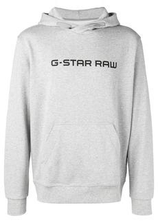G Star Raw Denim logo hoodie