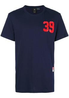 G Star Raw Denim logo print T-shirt