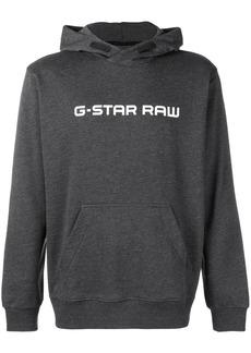 G Star Raw Denim logo printed hoodie