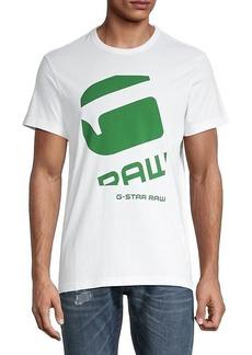 G Star Raw Denim Logo Short-Sleeve T-Shirt
