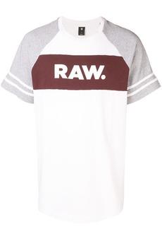 G Star Raw Denim logo stripe T-shirt