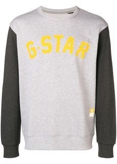 G Star Raw Denim logo sweatshirt