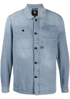 G Star Raw Denim long-sleeved multi-pocket shirt