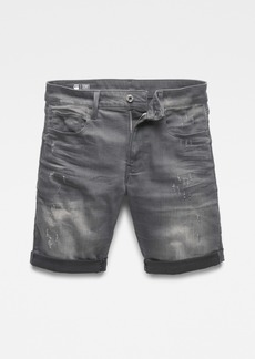 G Star Raw Denim Men's 3301 Slim 1/2 Shorts
