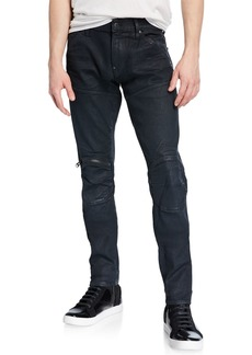 G Star Raw Denim Men's 5620 Knee-Zip Skinny Jeans