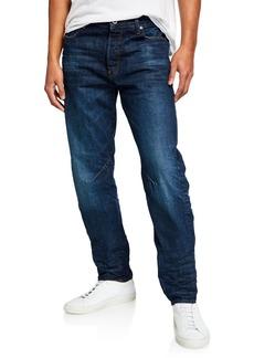 G Star Raw Denim Men's Arc Relaxed-Fit Tapered Higo Denim Jeans