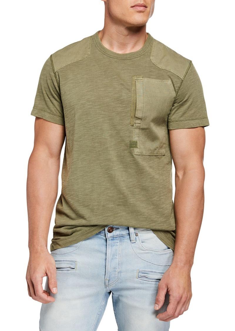 G Star Raw Denim Men's Arris Pocket T-Shirt