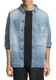 G Star Raw Denim Men's Blake Padded Bitt Canvas Jacket