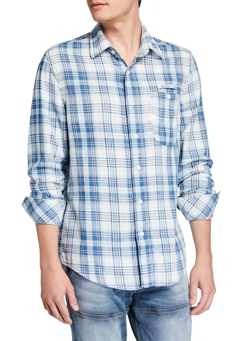 G Star Raw Denim Men's Bristum Pocket Slim Sport Shirt