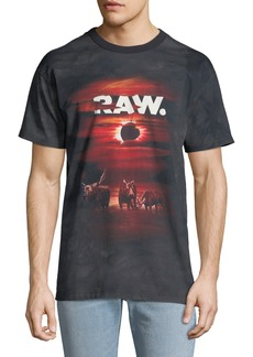 G Star Raw Denim Men's Cyrer Graphic T-Shirt