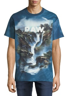 G Star Raw Denim Men's Cyrer Raw Graphic T-Shirt