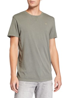 G Star Raw Denim Men's EarthColors Archroma Crewneck T-Shirt