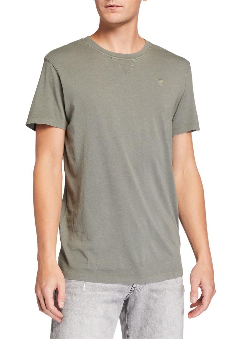G Star Raw Denim Men's EarthColors Archroma Crewneck T-Shirt