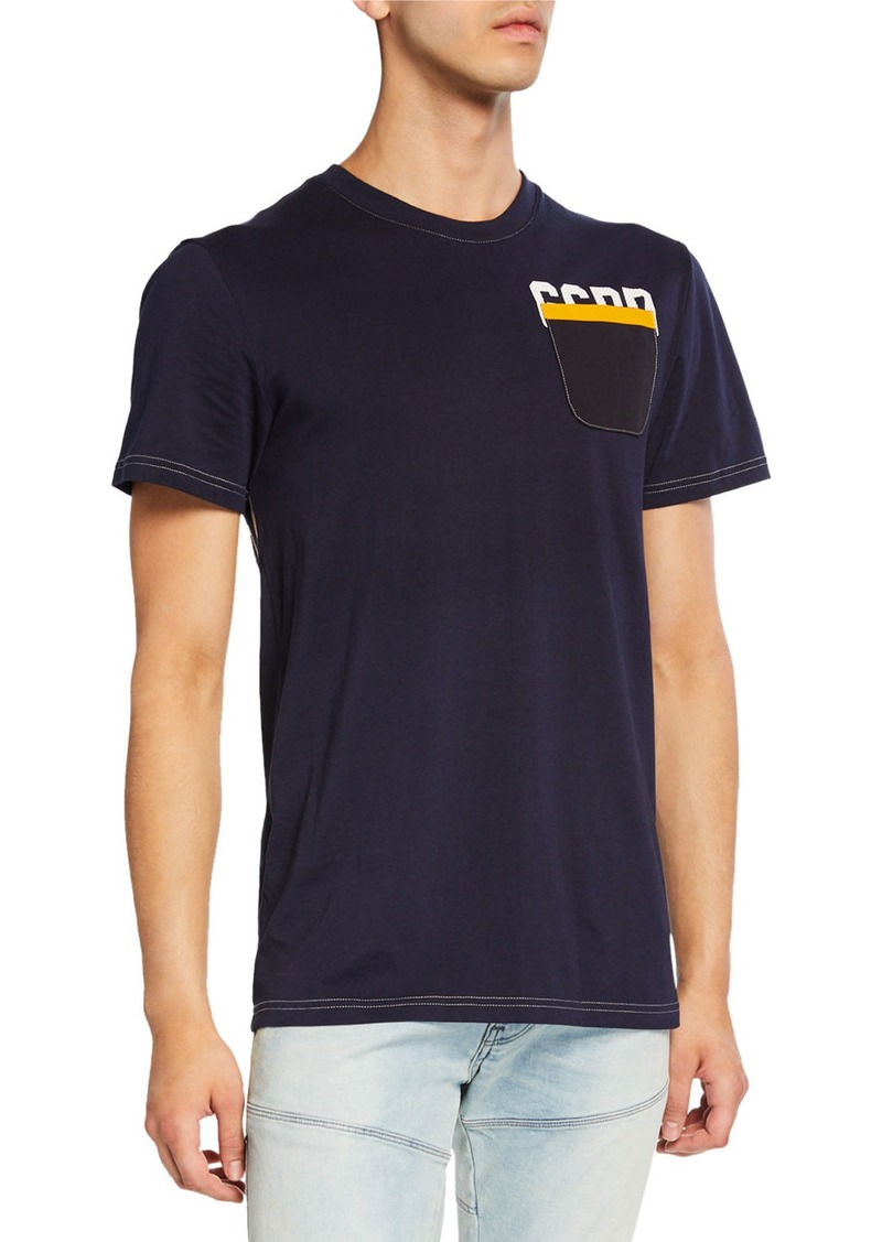 G Star Raw Denim Men's Graphic 12 T-Shirt