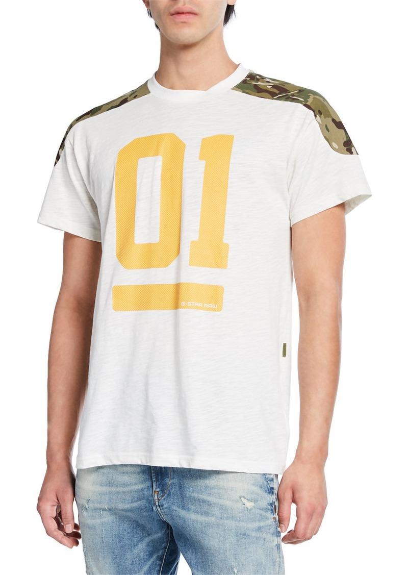 G Star Raw Denim Men's Graphic 17 T-Shirt