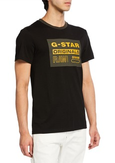 G Star Raw Denim Men's Graphic 8 T-Shirt