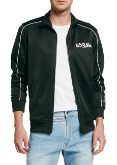 G Star Raw Denim Men's GS Raw Track Jacket w/ Piping