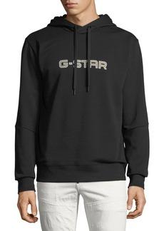 G Star Raw Denim Men's Logo-Print Hoodie  Sweatshirt