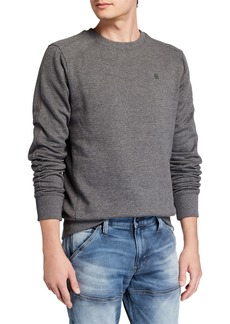 G Star Raw Denim Men's Motac Paneled Crewneck Sweatshirt