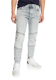 G Star Raw Denim Men's Motac Slim Distressed Jeans - Wess