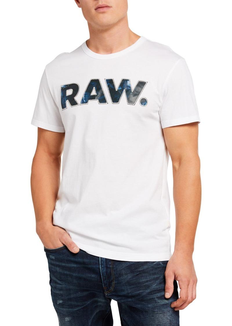 G Star Raw Denim Men's Rijks Graphic T-Shirt