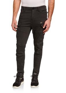 G Star Raw Denim Men's Rovic Zip-Detail Skinny Pants
