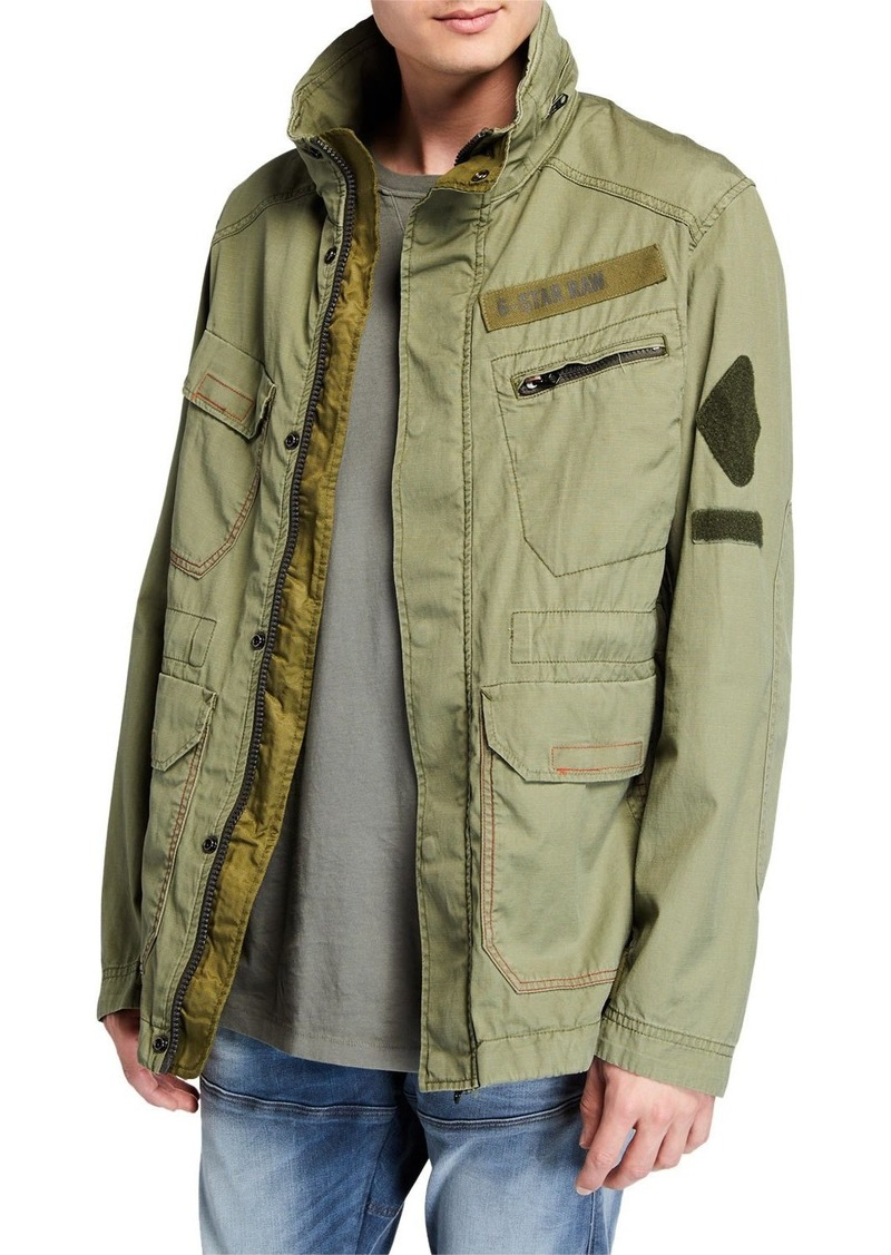 G Star Raw Denim Men's X-Po Ripstop Field Jacket
