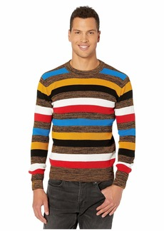 G Star Raw Denim Mike Stripe R Knit Long Sleeve