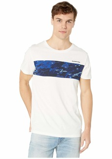 G Star Raw Denim Moat Camo Block Short Sleeve Round Neck Tee