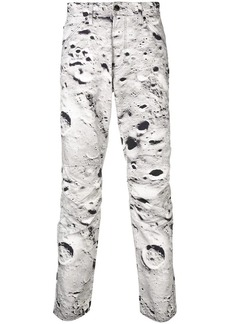 G Star Raw Denim 'moon' print trousers