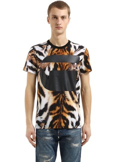 G Star Raw Denim Mostom Animalier Print Jersey T-shirt