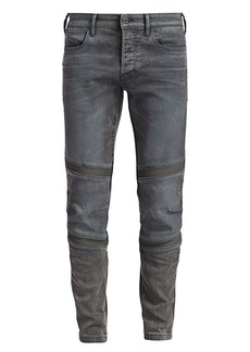 G Star Raw Denim Motac Slim-Fit Faded Jeans