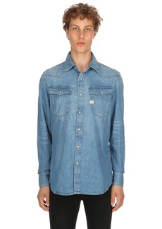 G Star Raw Denim New Tacoma Cotton Denim Shirt