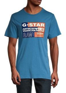 G Star Raw Denim Originals Flock Organic Cotton T-Shirt