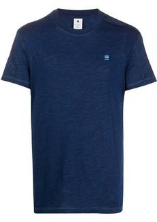 G Star Raw Denim pannelled logo T-shirt