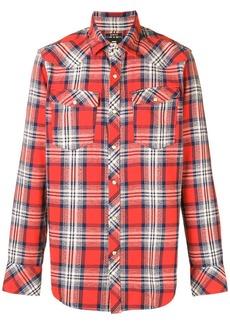 G Star Raw Denim plaid shirt