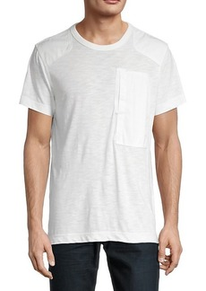 G Star Raw Denim Pocket Cotton-Blend Tee